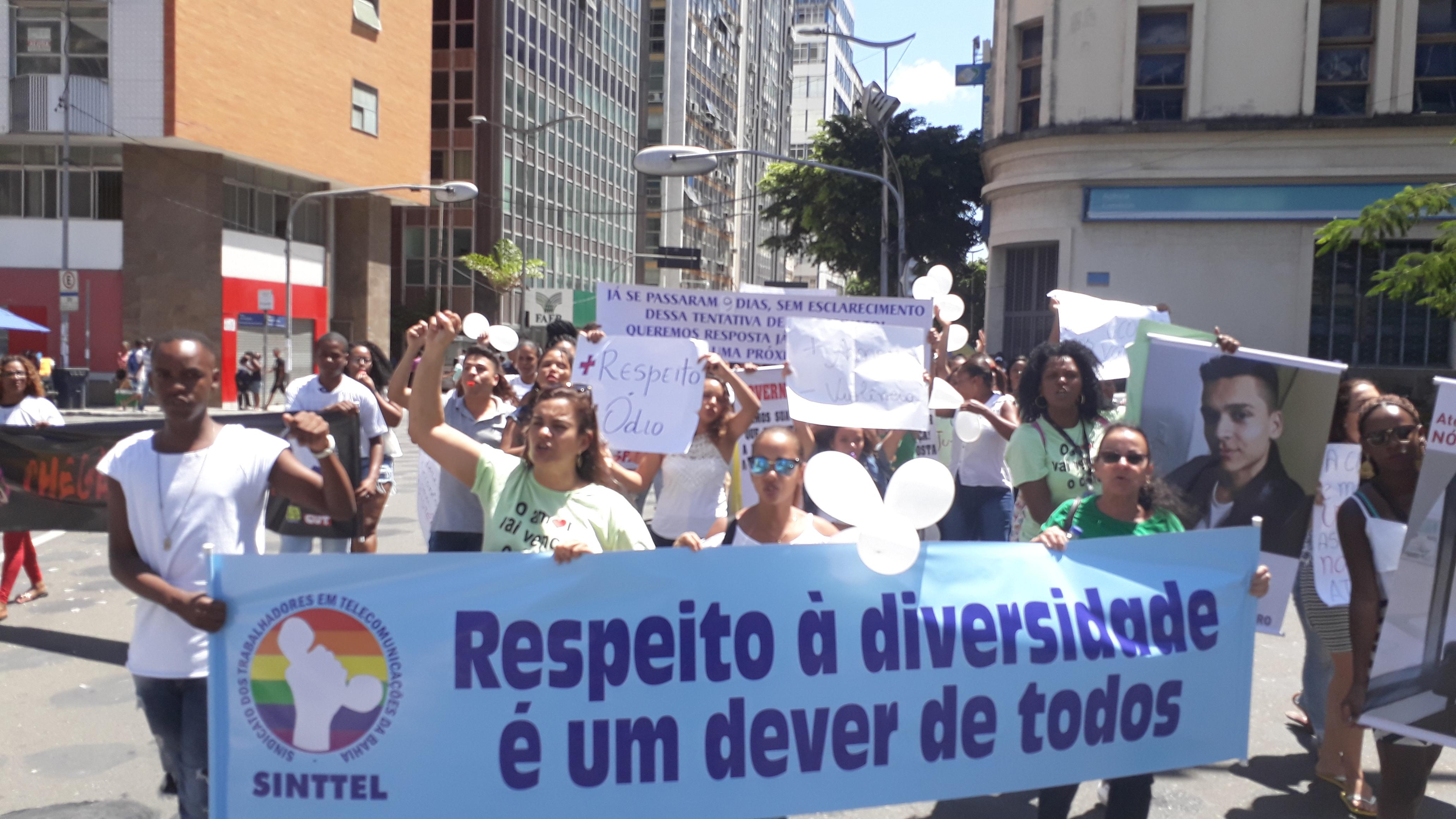Sinttel Bahia pede celeridade nas investigações do caso Walter Santos