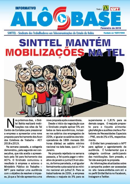 Sinttel mantém mobilizações na Tel