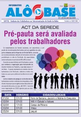 ACT da Serede: Pré-pauta será avaliada pelos trabalhadores