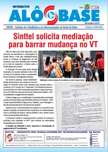Sindicato solicita mediação para barrar mudança no VT na Atento