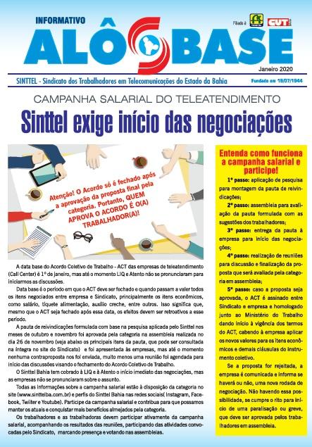 Campanha Salarial do Teleatendimento: Sinttel exige início das negociações
