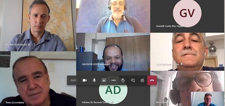 Reunião virtual marcou início da negociação do ACT da TIM