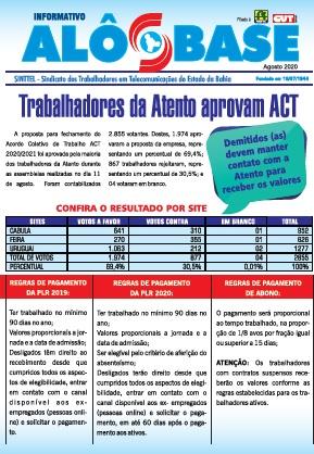 ACT da Atento: Demitidos devem manter contato com a empresa para receber valores