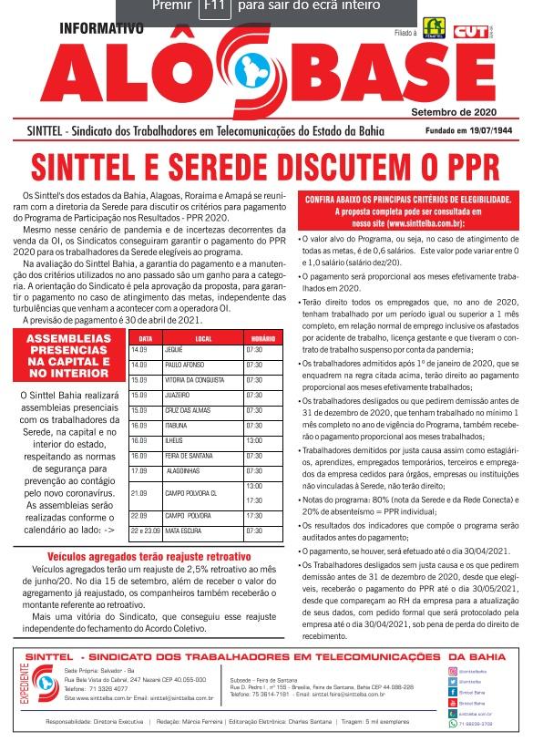 Sinttel e Serede discutem o PPR : Assembleias serão realizadas na capital e no interior do estado