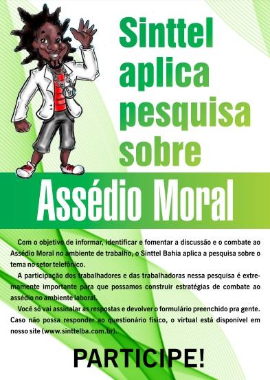 Participe da nossa pesquisa sobre Assédio Moral