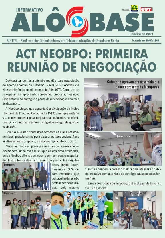 ACT Neobpo: primeira reunião de negociação