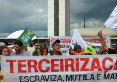 Ministro afirma que governo é contra projeto de terceirização