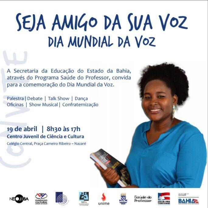 Sinttel Bahia participará de programação especial pelo Dia Mundial da Voz