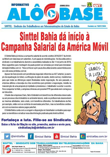 Sinttel Bahia dá início à campanha salarial da América Móvil