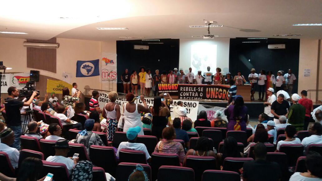 Sinttel participa do 5° Congresso da Unegro