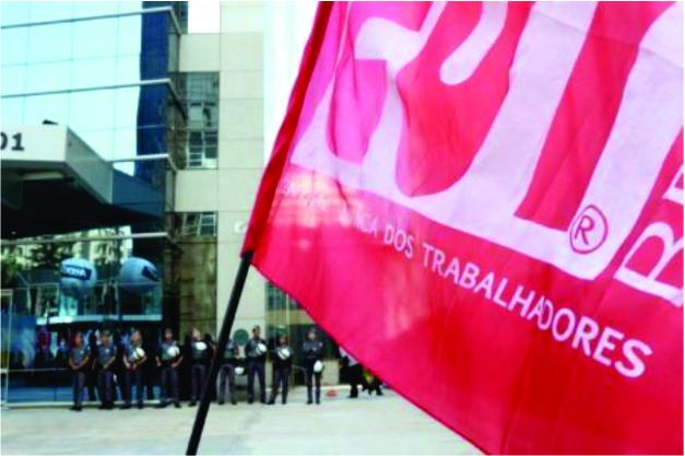 Centrais sindicais realizam ato pela redução da taxa de juros e contra o desemprego