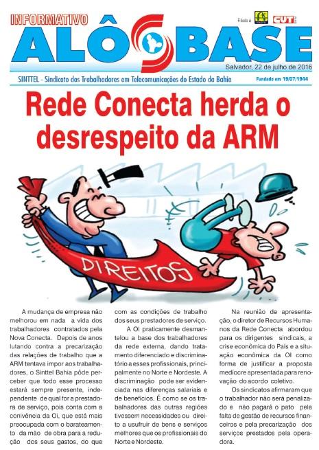 Rede Conecta herda o desrespeito da ARM