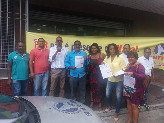 Sinttel Bahia inicia as mobilizações na América Móvil
