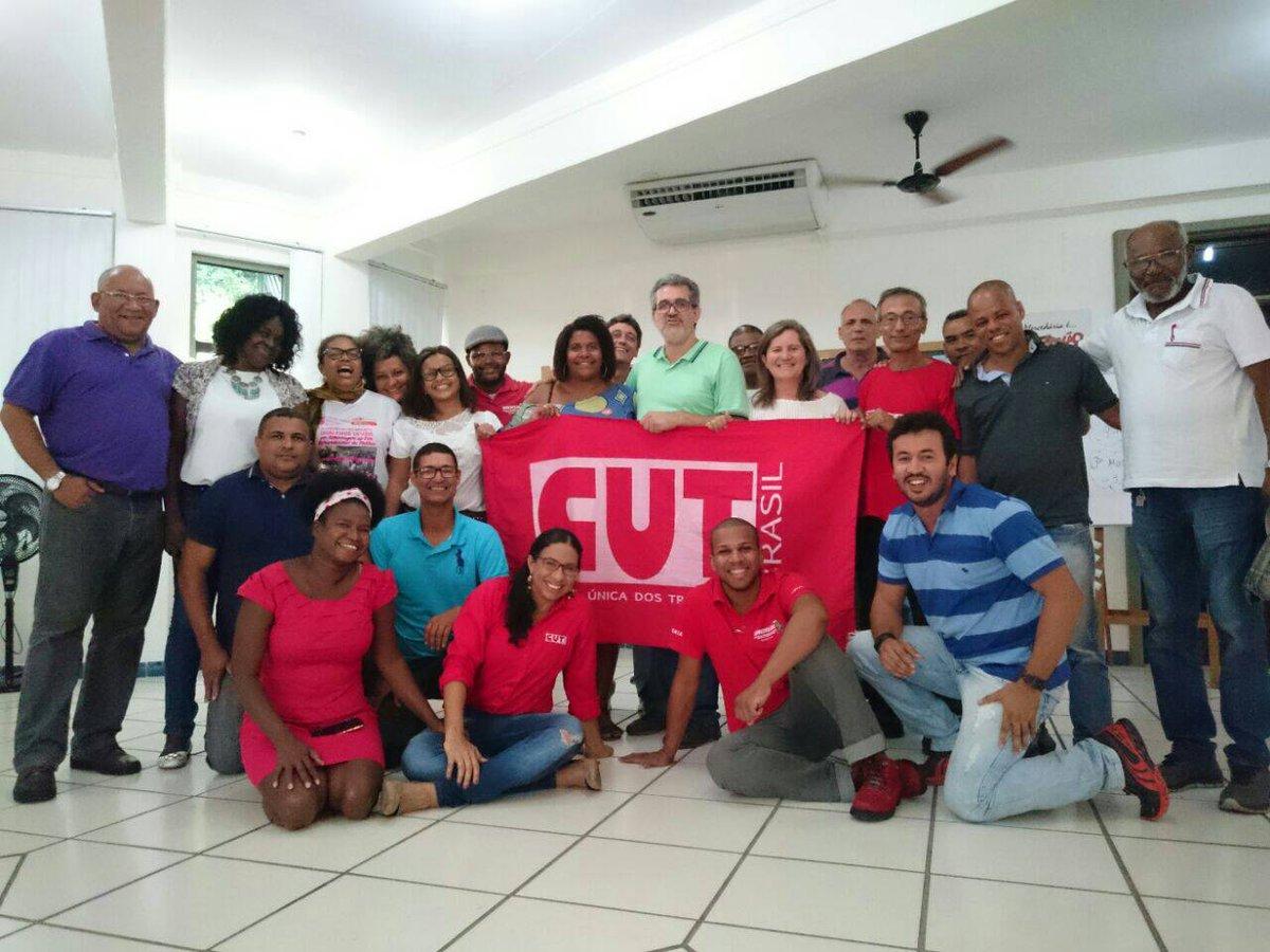 Dirigentes do Sinttel Bahia participam do Curso de Organização e Representação Sindical  de Base promovido pela CUT Bahia