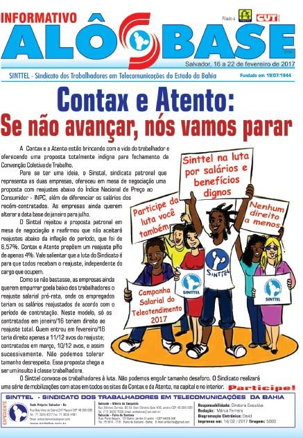 Contax e Atento: Se não negociar, nós vamos parar!