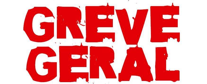 GREVE: trabalhadores de braços cruzados no dia 28 de abril