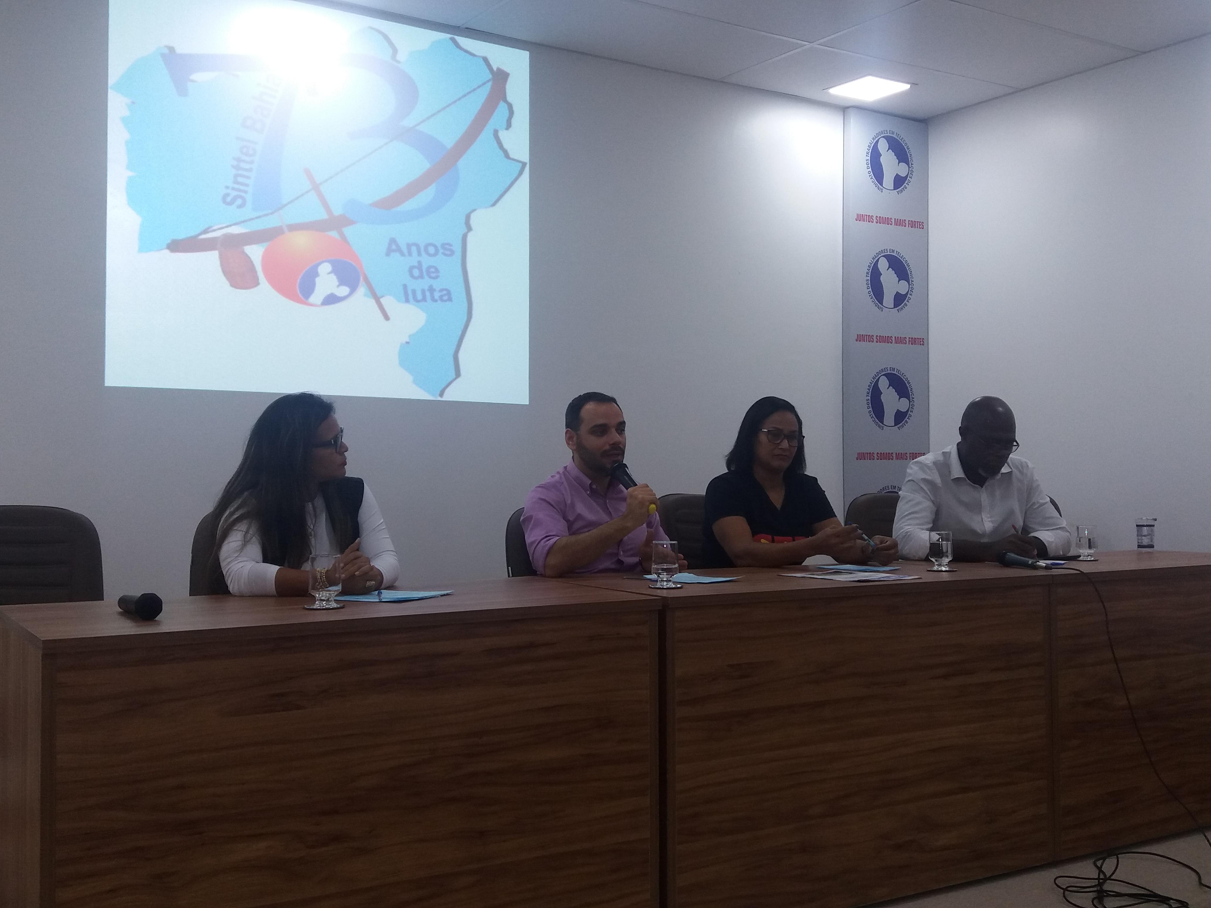 Sinttel discute a Reforma da Previdência com trabalhadores e dirigentes sindicais