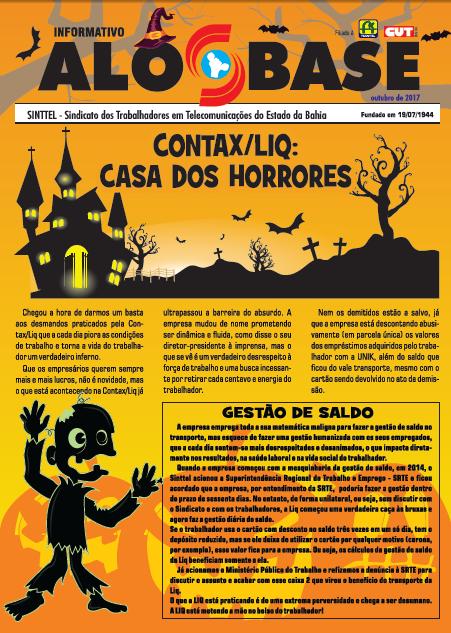 Contax/Liq: Casa dos horrores