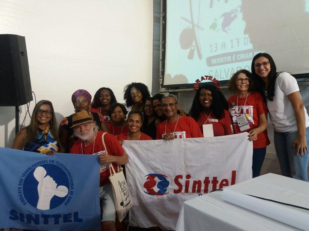 Sinttel discutiu a precarização das relações de trabalho no Fórum Social Mundial