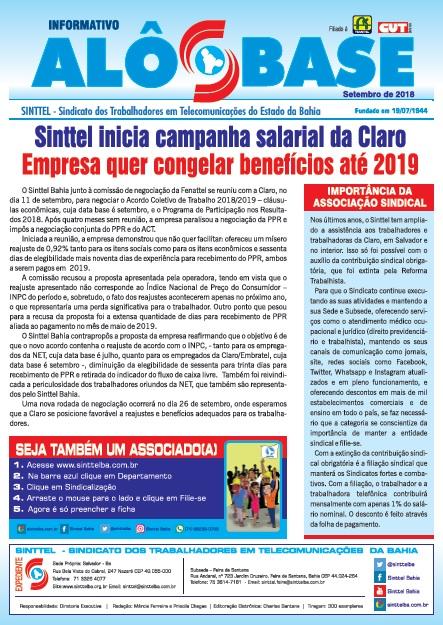 Sinttel inicia campanha salarial da Claro