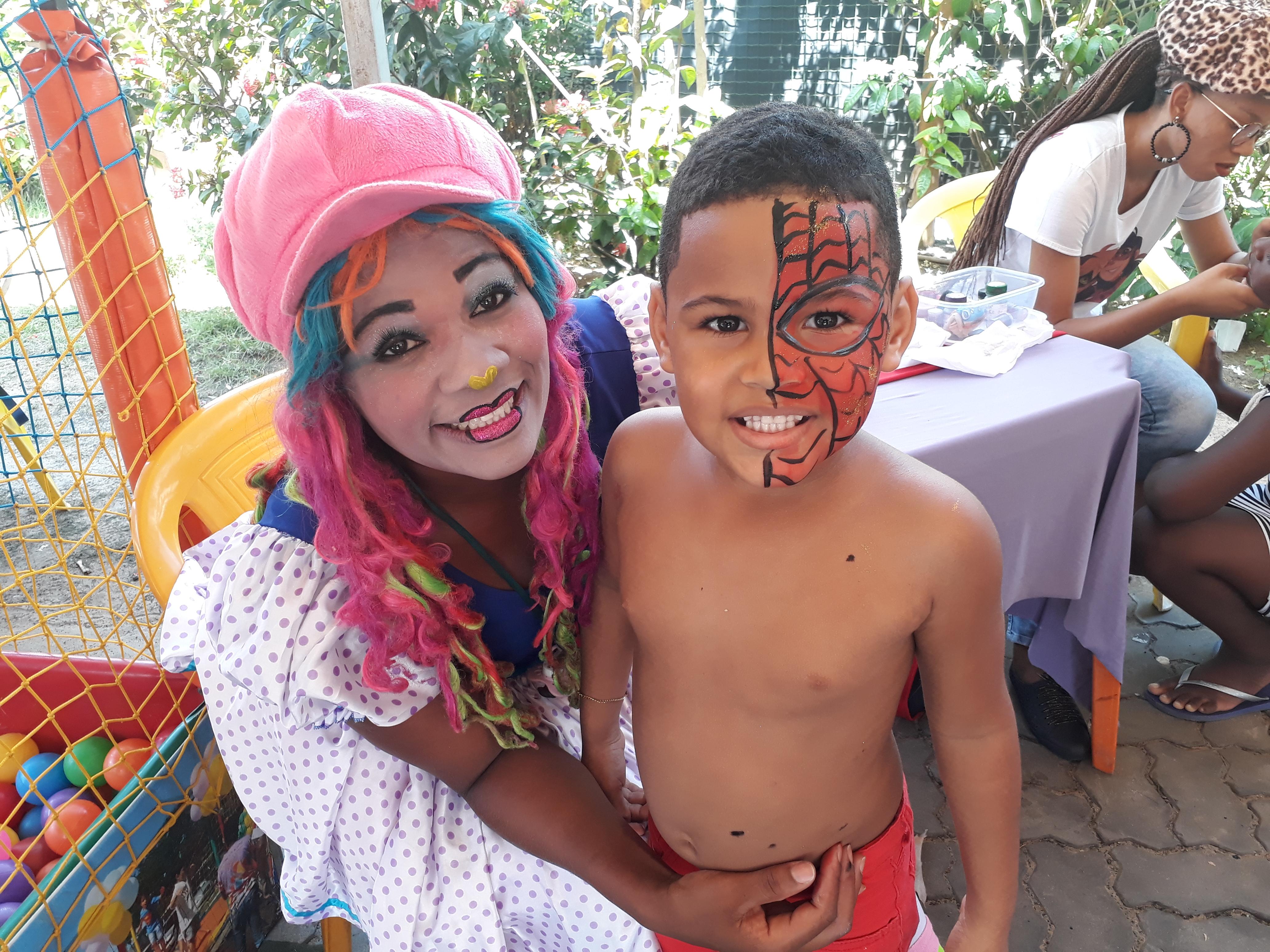 Sinttel Bahia promoveu festa para as crianças e futebol no domingo (14)